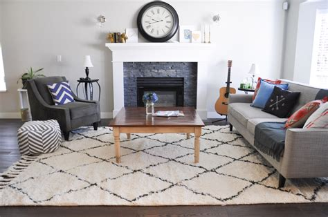 rug in living room rug love the marrakesh shag suburble