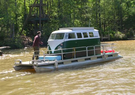 minivan boat vw mini van trawler forum