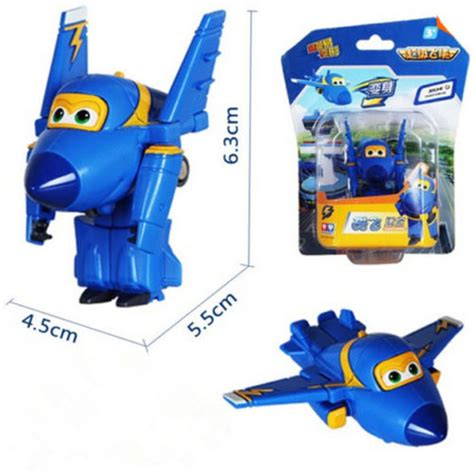 Transforming Robot Paul Limited 1pc wings mini transformer robot set dizzy donnie jerome jett paul al ebay