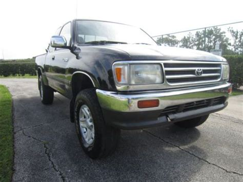 where to buy car manuals 1997 toyota t100 xtra on board diagnostic system purchase used 1997 toyota t100 4wd 5 speed manual v6 rare in orlando florida united states