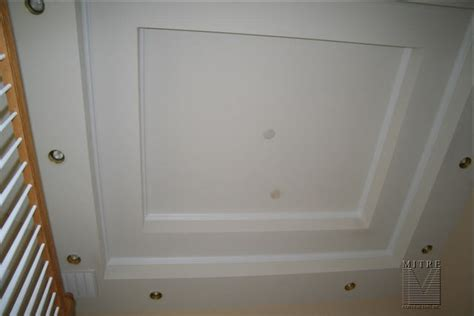 Step Up Ceiling by Ceiling Treatments Stepped Tray Ceiling With 1pc Crown