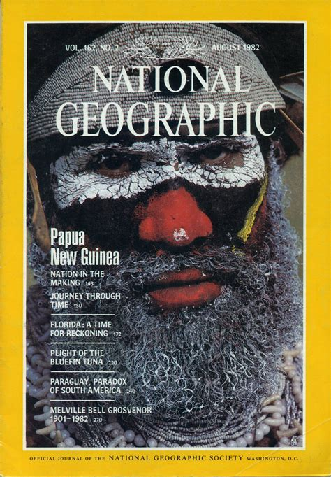 National Geographic Yunani Kuno New national geographic august 1982 papua new guinea nation in the