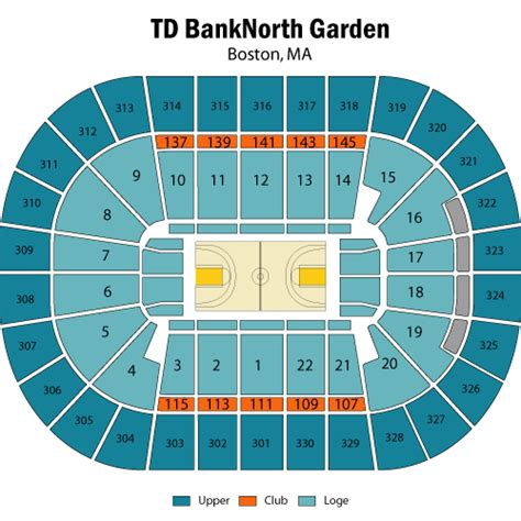 celtics floor plan seating boston celtics tickets
