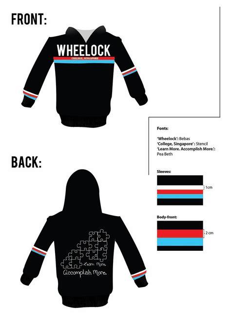 design own jacket singapore publicity student organization