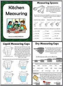 Kitchen Measuring Lesson Plans Empowered By Them December 2012