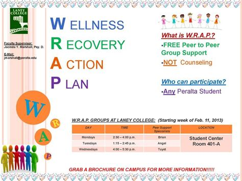wellness recovery action plan worksheet template project