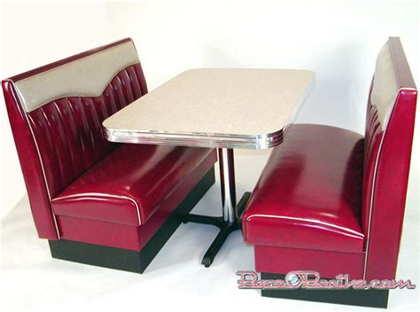diner couch big bopper booth set chevy rolled back commercial quality