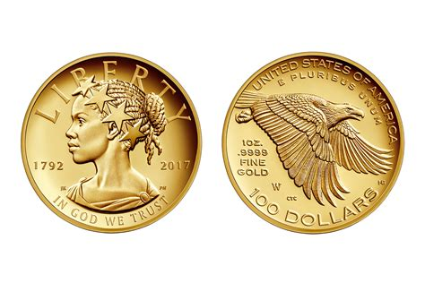 gold dollar u s mint new liberty coin for 225th anniversary