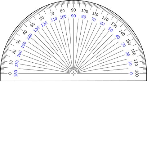 printable scalable protractor protractor actual size www pixshark com images