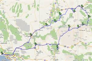 arizona colorado map rv net open roads forum utah colorado arizona trip report