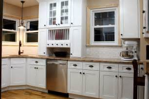 white shaker cabinets dayton painted white kitchen