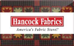 buy hancock fabrics gift cards raise - Hancock Fabrics Gift Card