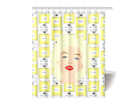 Marilyn Shower Curtains by Marilyn Shower Curtain Original Illustration
