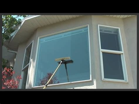 how to wash house windows how to clean outside windows on a house youtube