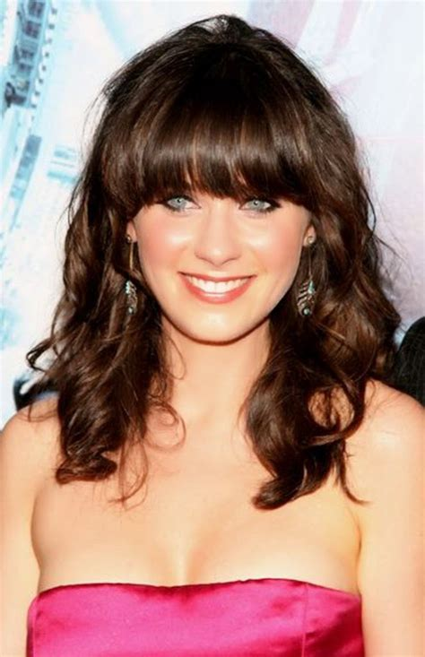 shoulder length hairstyles with bangs 40 medium length haircuts for women over 40