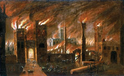 House Of Troy Lighting History Picture Gallery The Great Fire Of London And