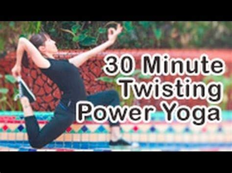 30 Minute Detox by 30 Min Flow With Twists For Detox Cardio Fitness