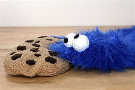 diy cookie fur rug with cookie pillows bored panda