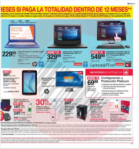 Office Depot Coupons Puerto Rico Officemax Officedepot Shopper P4 Cuponeando Pr
