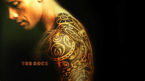 dwayne johnson tattoo wallpaper dwayne johnson wallpapers high resolution and quality download