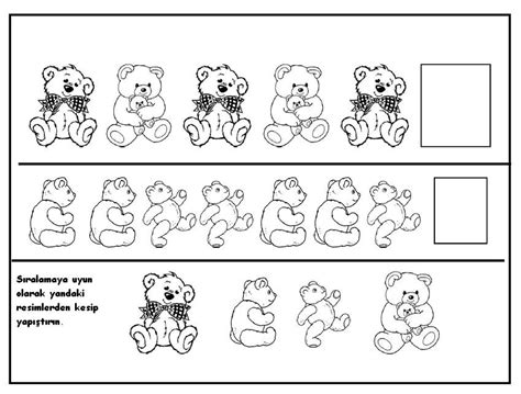 bear pattern for kindergarten crafts actvities and worksheets for preschool toddler and