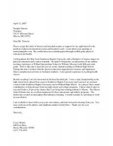 Physical Education Cover Letter by Physical Education Cover Letter Reportd256 Web Fc2