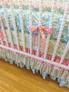 shabby chic crib bedding ready to ship shabby chic baby crib bedding