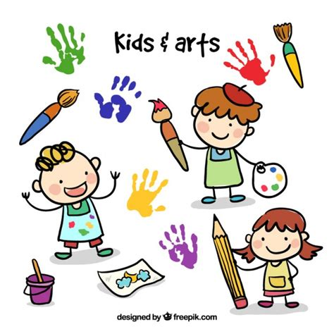imagenes infantiles sobre otoño pintura a oleo vetores e fotos baixar gratis