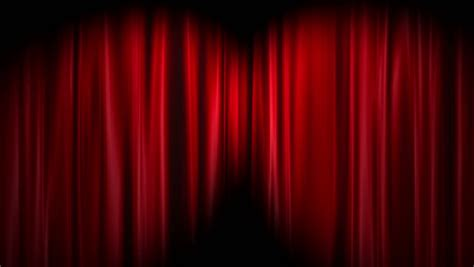 curtain opening red curtains open white background stock footage video
