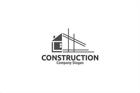 9 construction company logos psd vector eps ai file