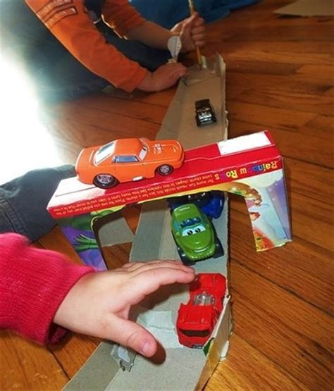 How To Make A Race Car Out Of Paper - the on recycled materials toys and crafts