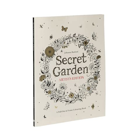 secret garden artists edition secret garden artist s edition a pull out and frame colouring book ohfriday