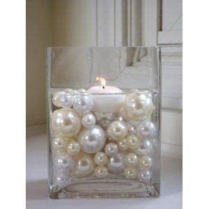 inexpensive table setting for pearl themed wedding wedding decor table