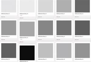 gray shades grey shades color names