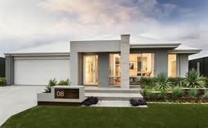 Textured Front Facade Modern Box Home by The Portman Contemporary Elevation With Tiled Feature