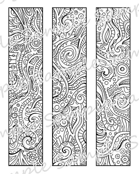 printable bookmarks black and white 6 best images of printable bookmarks for students to color