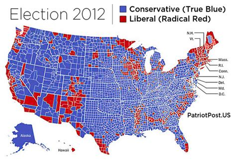 us map and blue counties 2012 2012 election fail bullet points the
