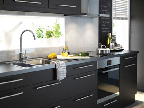 country style dining discount kitchen cabinets ikea black