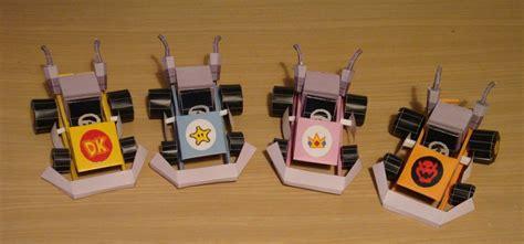 Mario Kart Papercraft - mario kart crafts
