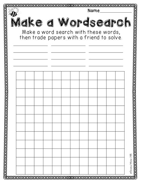 Spelling Homework Worksheets by Spelling Homework Grade