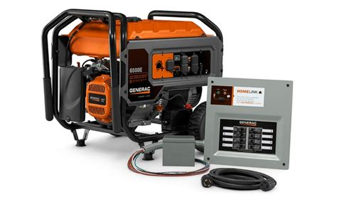 generac homelink portable generator with upgradeable