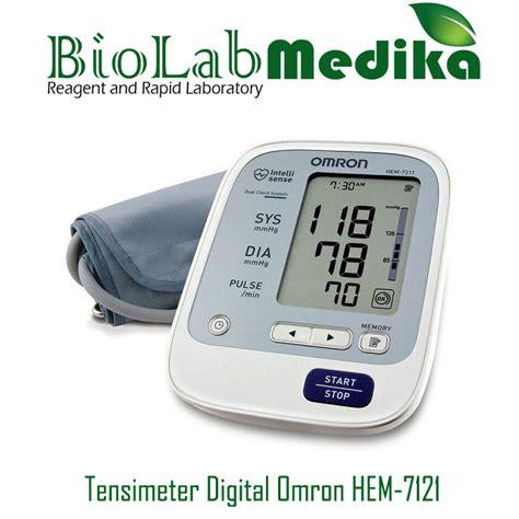 Tensimeter Digital Merk Omron by Tensimeter Digital Omron Hem 7121 Biolab Medika