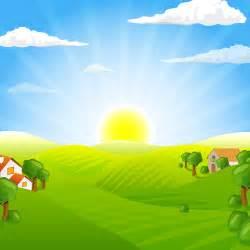 早上的太阳卡通 早上太阳升起卡通画 早上太阳 点力图库