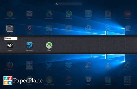 computer themes launcher paperplane by itigic ipad like launcher for windows desktop