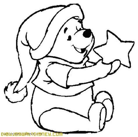 imagen de winnie pooh de navidad para colorear imagenes winnie the pooh y la navidad