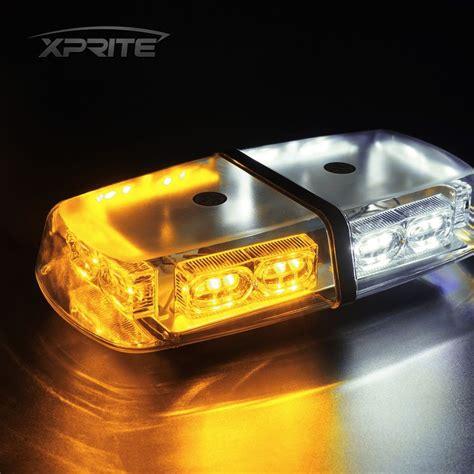amber led book light 36 led oval roof top light bar emergency hazard flash