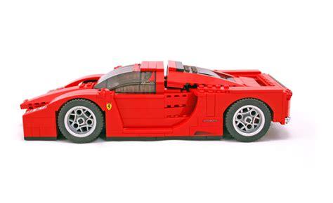 Lego Ferrari Enzo by Enzo Ferrari 1 17 Lego Set 8652 1 Building Sets Gt Racers
