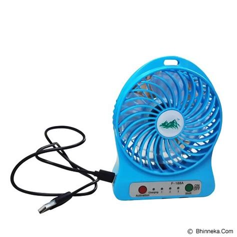 Kipas Angin Mini Kipas Angin Mini Jual Sb Mini Fan Kipas Angin Rechargeable F 188 Murah Bhinneka