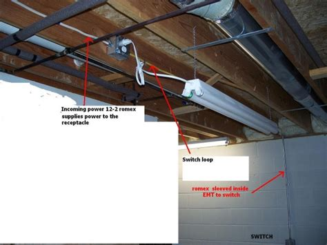 adding wall outlets unfinished basement electrical