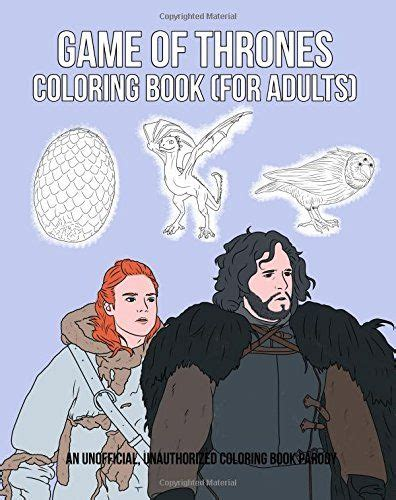 thrones coloring book for adults the world s catalog of ideas